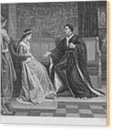 Shakespeare: King Henry V Wood Print