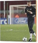Shaktars 2nd Goalkeeper Wood Print