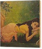 Shakuntala Wood Print
