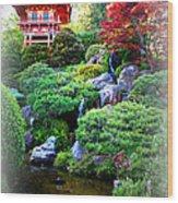 Shangri-la In San Francisco Wood Print
