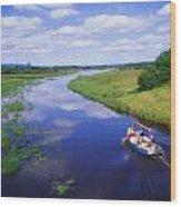 Shannon-erne Waterway Wood Print