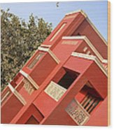 Shapes Angles Patterns Color Wood Print