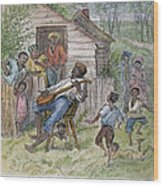 Sharecroppers, 1876 Wood Print