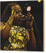 Sharon Jones Wood Print