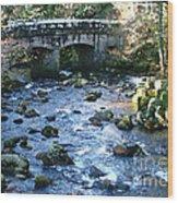 Shaugh Prior Bridge Wood Print