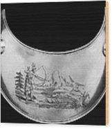 Shawnee Chest Ornament Wood Print