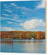 Shawnee State Park Wood Print