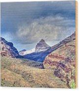 Sheep Rock Mountain Wood Print