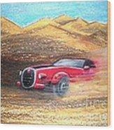 Sheikhs Dirt Racer Wood Print