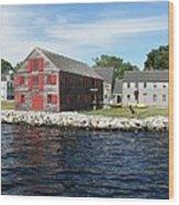 Shelburne Waterfront Ll Wood Print