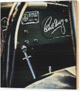 Shelby Cockpit Wood Print