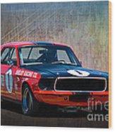 Shelby Racing Co Mustang Wood Print