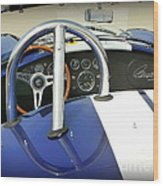Shelby Signed Cobra Wood Print by Karyn Robinson