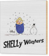 Shelly Winters Wood Print