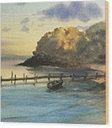 Shelter Bay Wood Print
