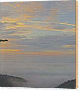 Shenandoah Sunrise - 4342 Wood Print