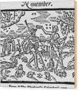 Shepherd, 1597 Wood Print