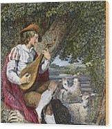 Shepherd Wood Print