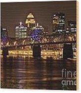 Sherman Minton Bridge Wood Print