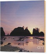 Shi Shi Beach Wood Print