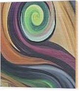 Shift Of Seasons Wood Print by Derya  Aktas