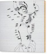 Shikat Dance - Morocco Wood Print