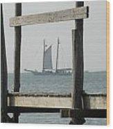 Ship 24 Wood Print by Joyce StJames