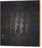 Ship's Footprint Wood Print by Mitra Kelly