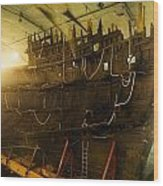 Shipwreck Of The Mary Rose, Portsmouth Wood Print