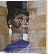 Shirley Wood Print