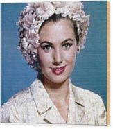 Shirley Jones, C. 1950s Wood Print