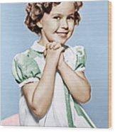 Shirley Temple, Ca. 1936 Wood Print