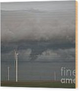 Shelf Cloud 13 Wood Print