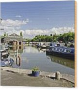 Shobnall Marina - Burton On Trent Wood Print