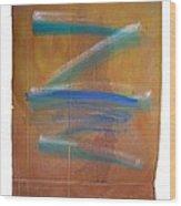Shock Tide Two Wood Print