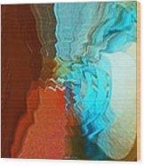 Shock Wave Wood Print