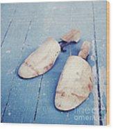 shoe trees II Wood Print