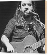Shooter Jennings - Long Way From Home Wood Print