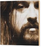 Shooter Jennings - Son Of Country Wood Print