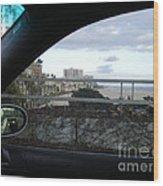 Shoreline Drive Wood Print