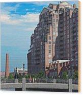 Shot Tower - Baltimore Wood Print
