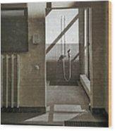 Shower Spot Wood Print