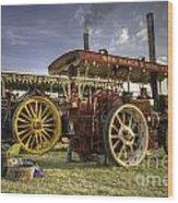 Showmans Engines Wood Print