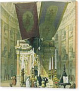 Shrine Of The Holy Sepulchre April 10th 1839 Wood Print