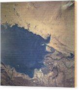 Shuttle Photograph Of Kuwait, Iraq & Iran Wood Print by Nasa