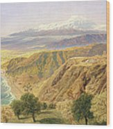 Sicily - Taormina Wood Print