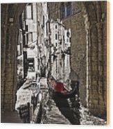 Sicily Meets Venice Wood Print