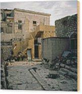 Side Street Safed Israel Wood Print