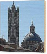 Sienna's Duomo Wood Print