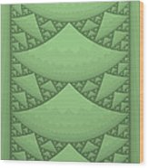 Sierpinski Composition Wood Print